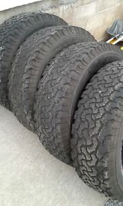 Set of 4 BFGoodrich Used Tires