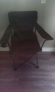 2 camping chairs, both for $10