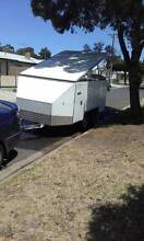 Fully Enclosed 4 Bike Motorbike Trailer Norlane Geelong City Preview