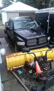 Package deal 02 5.9 gas ram 1500 with plow