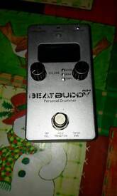 Beatbuddy mini with digitech pedal