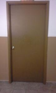 portes intérieur plein/Indoor doors 35 3/4 x 83 1/2 avec cadre