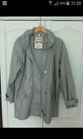 Light grey rain jacket by 'Sea Salt'