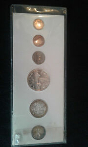 1959 mint canadian coin set