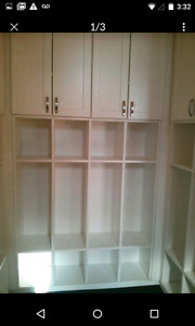 Shelves with Cabinets