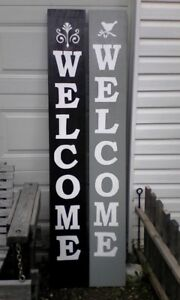 For Sale Handmade Outdoor Welcome Signs