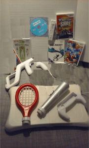 Jeux Nintendo Wii/GC, manettes et accessoires à vendre/échanger