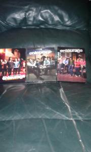 Entourage DVDs - Season 1 - 3