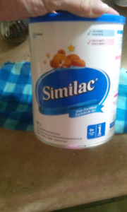 Unopened 820g can similac/iron 0+mnth