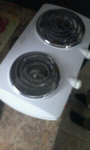 two burner stove counter top