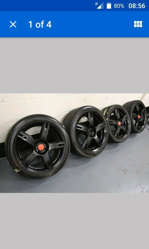 AEZ 4x108 alloy wheels good condition....