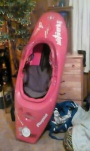 White water kayak for sale ,6 footer red in colour project 52
