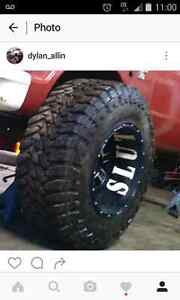 "40"" mud tires toyo  trade for shop tools or truck parts"