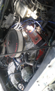 1985 S10 pick up 350 convertion drag truck