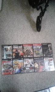 Lot of 10 PlayStation 2 games