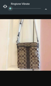 Selling 2 brand new without tags Coach Handbags $45. Firm