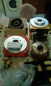 Peugeot 206 brake pads and discs brandnew