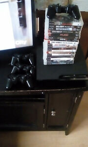 Ps3 15 games 4 controllers 200$