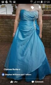 Prom dress for sale. Size large