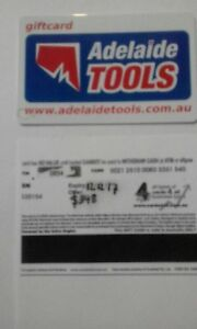 Adelaide tools store credit voucher Pasadena Mitcham Area Preview
