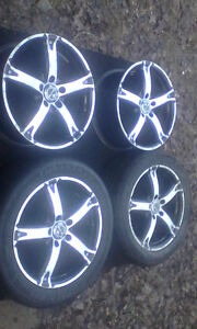 4 RTX Poison rims with 2 Tires