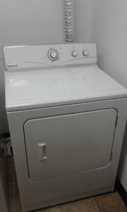 3 washer and 2 dryers, GE Maytag,