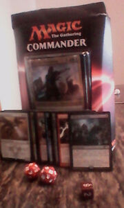 Magic the gathering. COMMANDER DECK