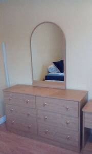 MATCHING DRESSER AND NIGHTSTAND