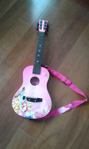 Disney princess acoustic guitar
