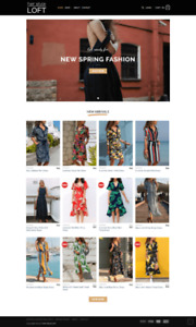 Online Women's Clothing Store for sale