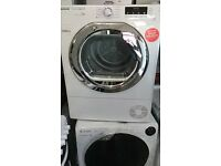 (ex display) Hoover DNCD813B DNC D813B 8kg Condenser Tumble Dryer - White
