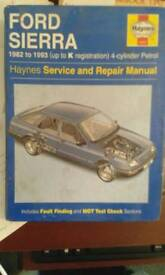 Ford Sierra services manual