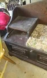 Old phone desk
