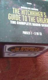 Hitchhikers guide galaxy audio dvd.