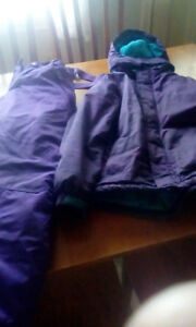 Size 14 girls snow suit