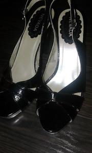 """Open toe 3 1/2"""" heels"""