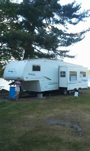 2001 Cougar 5th wheel camper