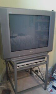 SONY 32 inch FLAT SCREEN CRT TV