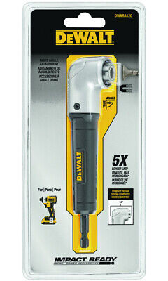 Dewalt Impact Ready Metal Right Angle Drill Attachment 1 Pk Dwara120