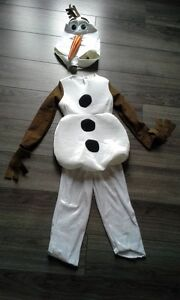 Costume Olaf 2 pièces - 3 ans