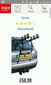 Rear mounted 3 bike carrier *NEW*