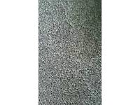 Grey off-cut carpet