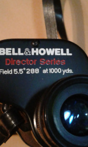 Bell & Howell 10 x 50 Director Series Binoculars With Case