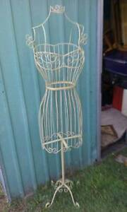 Vintage metal wire dress Form Mannequin x 2 Dee Why Manly Area Preview
