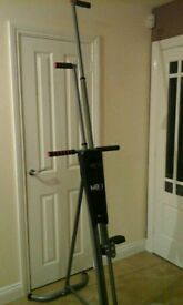 Maxi Climber - vertical climbing fitness machine - Excellent used condition! !