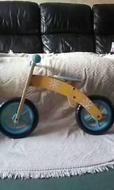 Wooden Balance Bike/Toy