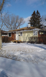 Home in east regina  for rent