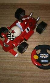 Remote control car, Rory the racing car