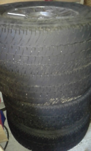 Ford 4x4  F-150 Rims and Tires MICHELIN