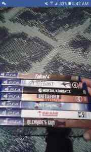 Ps4 games brand new never used pick up morning